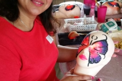 Face painting workshop 1 tab