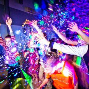 Karaoke UV Glow Disco Parties