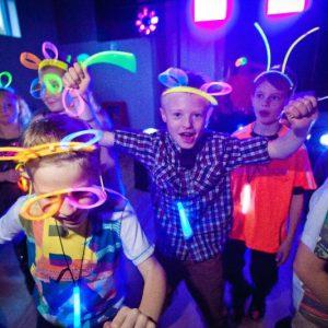 UV Glow Disco Party